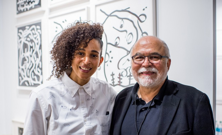 Shantell Martin and Maurice Sanchez